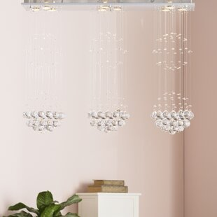 Willa Arlo Interiors Robbe 9-Light LED Chandelier