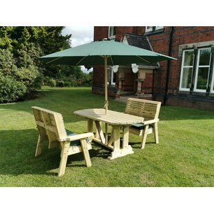 Brampton 4 Seater Dining Set By Sol 72 Outdoor