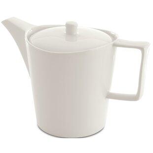 Eclipse 1.30 qt. Porcelain China Tea Pot with Lid
