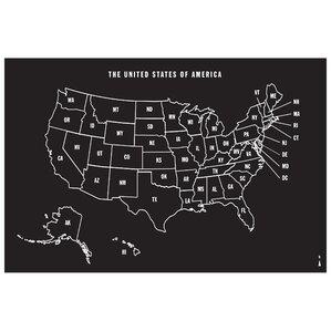 Dry Erase Wall Decals Wayfair - Us map whiteboard