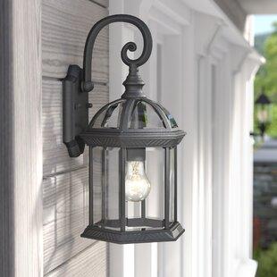 Alcott Hill Bunker Hill 1-Light Outdoor Wall Lantern