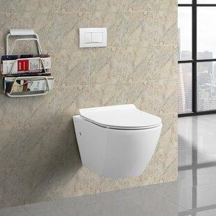 Swiss Madison Sublime® Dual Flush Wall Hung Toilet