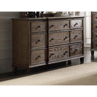 Gracie Oaks Catron 9 Drawer Dresser