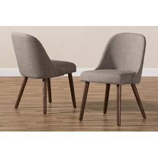Coupon Blumberg Upholstered Dining Chair (Set of 2) by Corrigan Studio Reviews (2019) & Buyer's Guide
