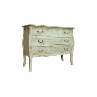 Maxine 3 Drawer Accent Chest by One Allium Way