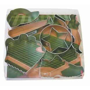 7 Piece Baseball Cookie Cutter Set