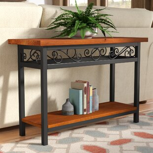 Inexpensive Carrollton Scrollwork Console Table By Loon Peak