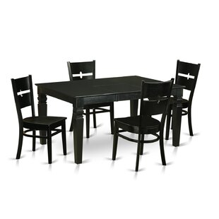 Wooden Importers Weston 5 Piece Dining Set