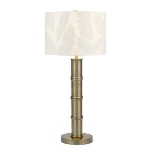 Crystal Art Deco Bamboo 33 Table Lamp