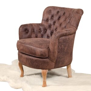 Novica Tufted Armchair by Loon Peak