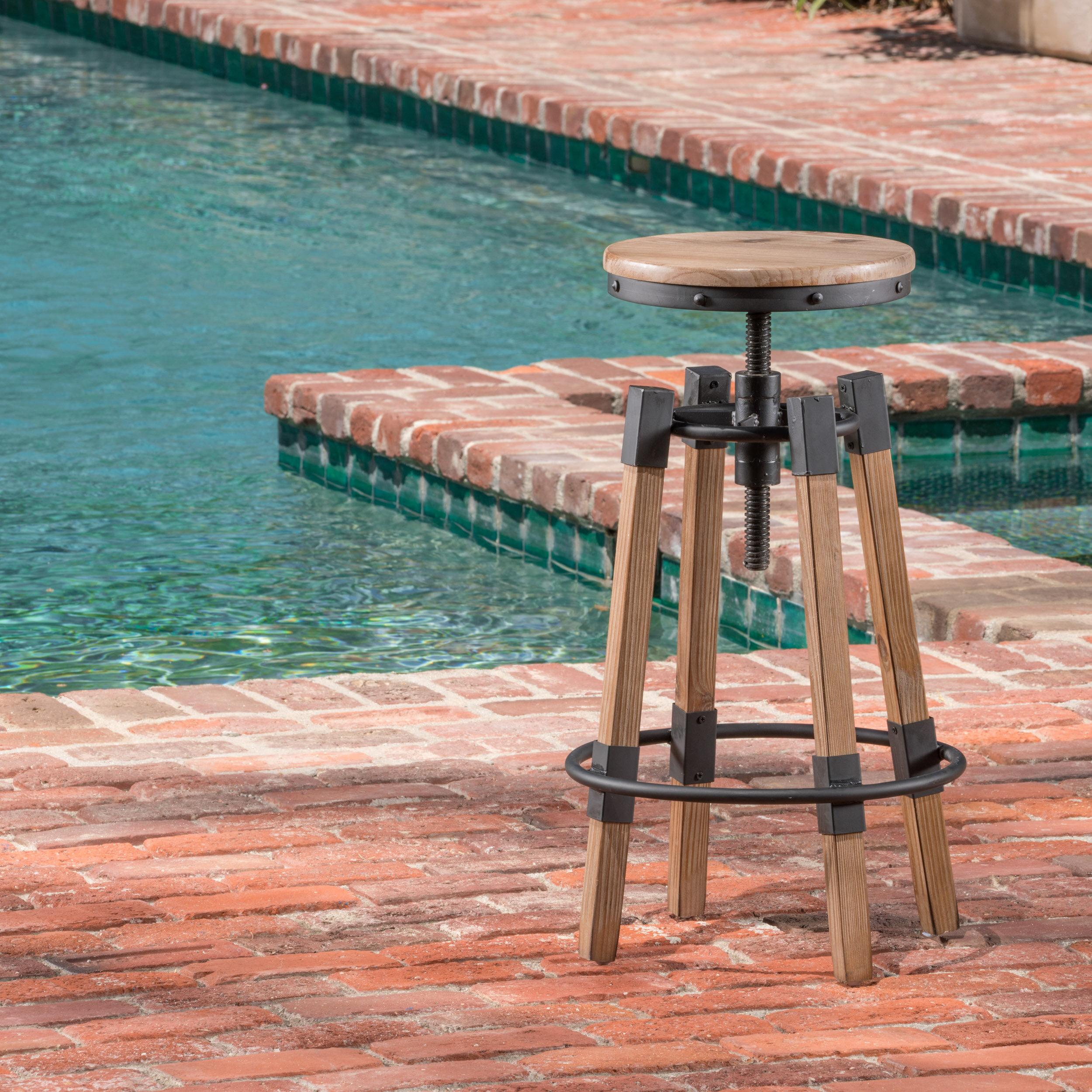 Midhurst Adjustable Height Swivel Bar Stool