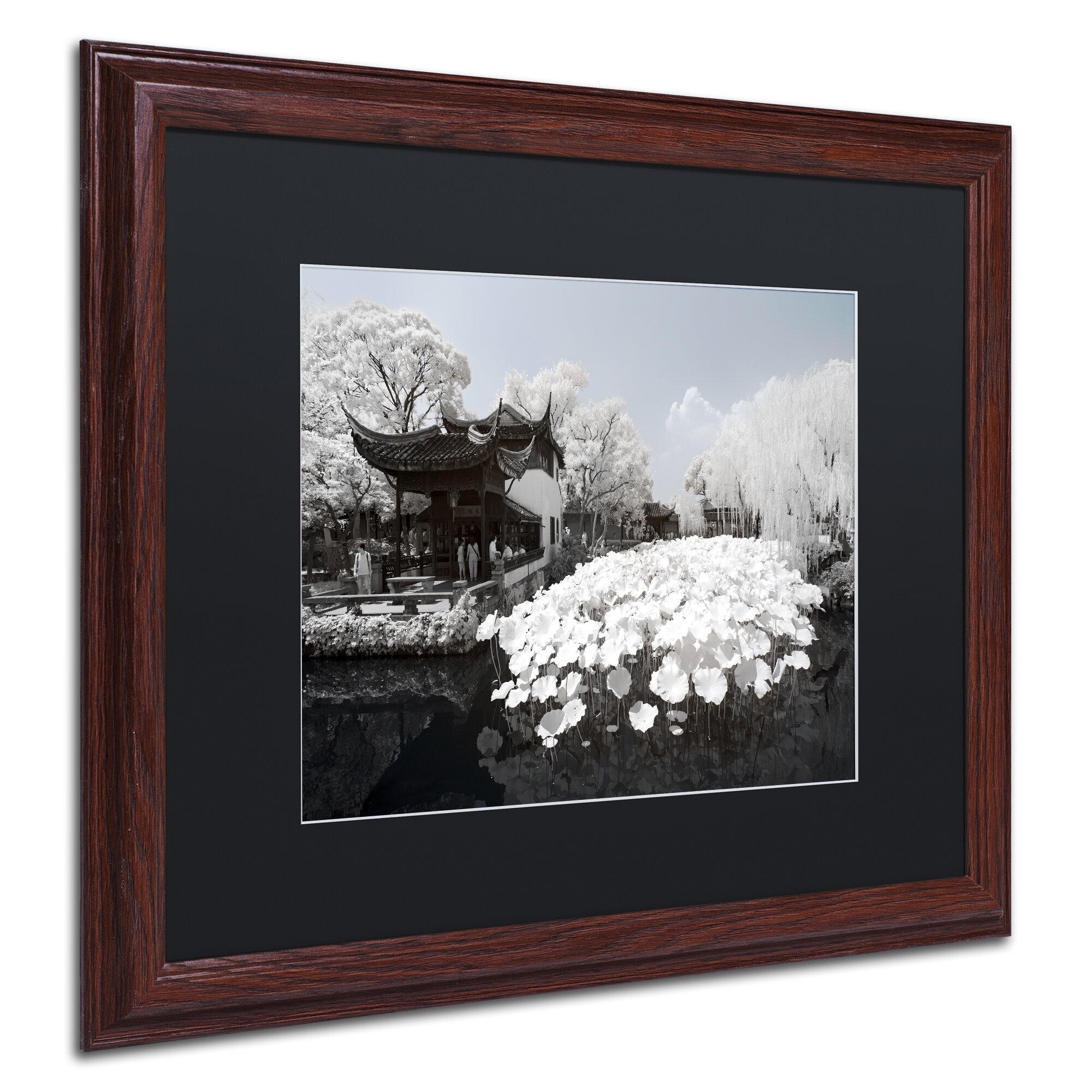 Trademark Art Meditation By Philippe Hugonnard Framed Photographic Print Wayfair