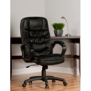 Comfort Products Mid-Back Leather Desk Chair