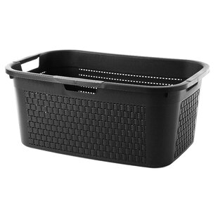 Country Laundry Basket By Rotho