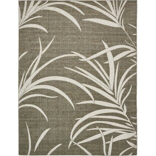 Derrytown Brown Indoor/Outdoor Area Rug