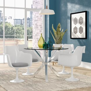 Julien Contemporary Dining Armchair (Set of 4) Langley Street