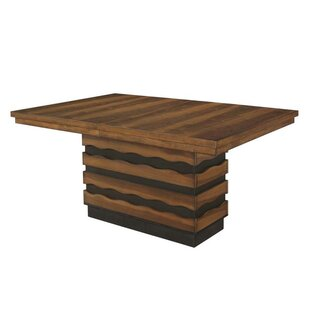 Ivy Bronx Fostoria Extendable Solid Wood ..
