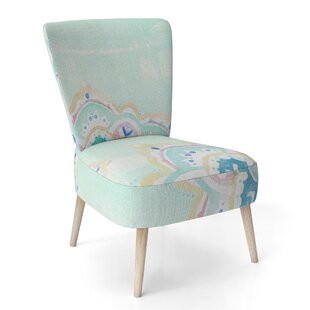 Watercolor Malas IV Side Chair by East Urban Home