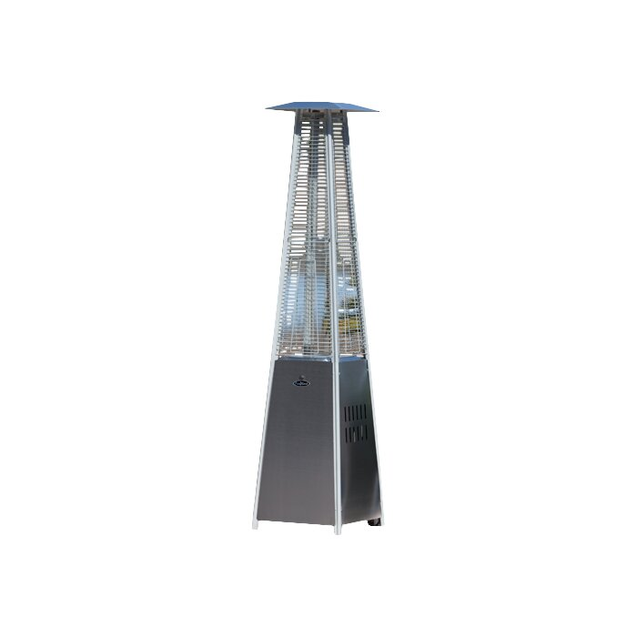 propane patio heater. Fine Propane Pyramid Flame 40000 BTU Propane Patio Heater To L