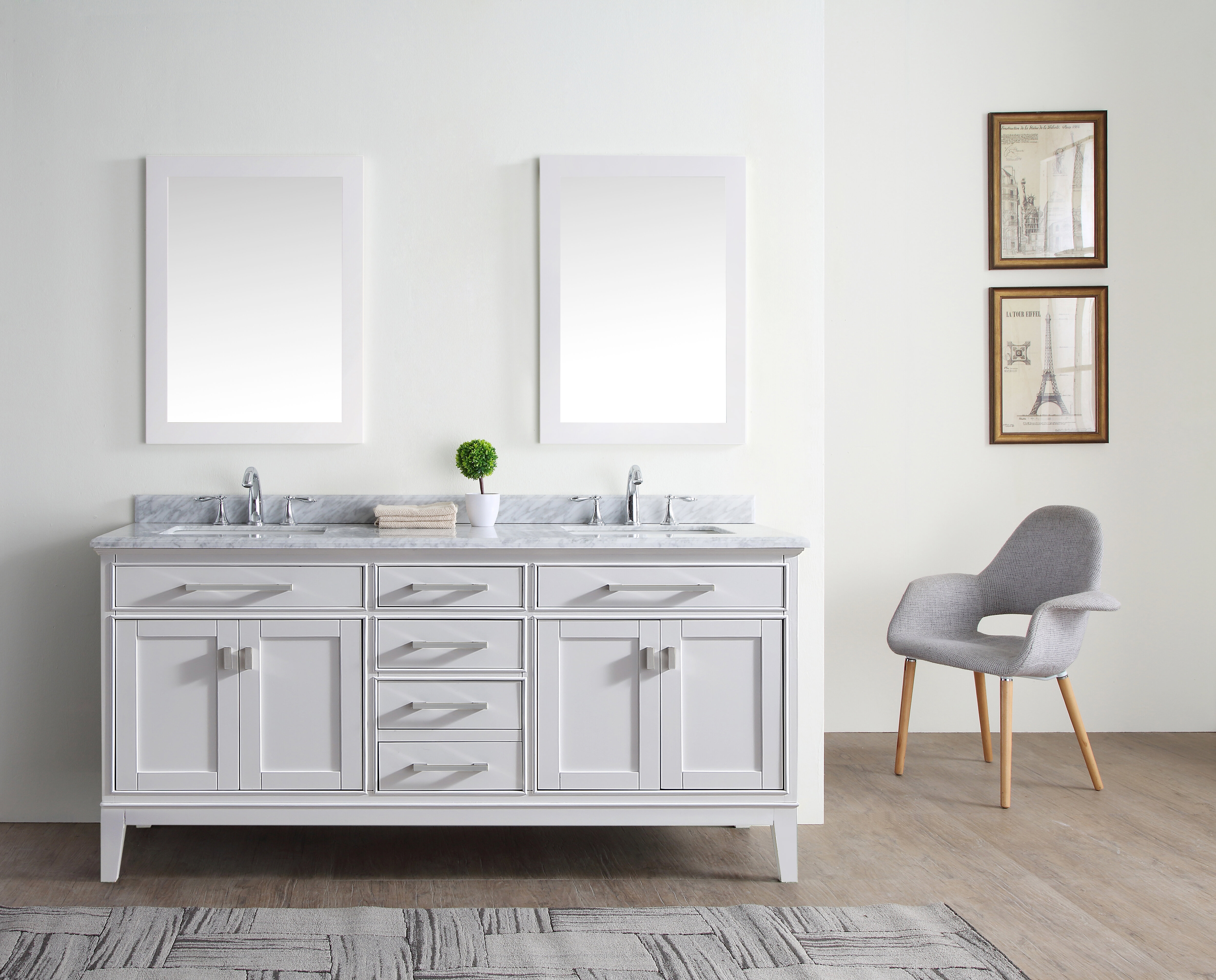 4 Drawer Coastal Bathroom Vanities You Ll Love In 2021 Wayfair