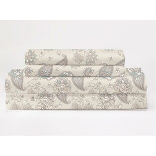 Sydnor 350 Thread Count 100% Cotton Sheet Set