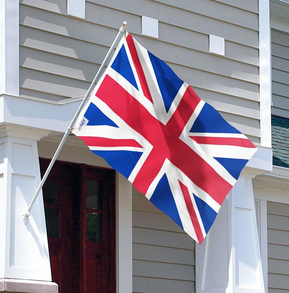 Anley United Kingdom 2 Sided Polyester 36 X 60 In House Flag Wayfair