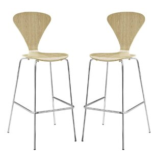 Coupland Solid Wood 31 Bar Stool by George Oliver