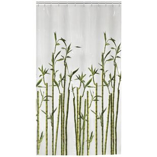 Affordable Price Lippa Photoreal Bamboo Shower Curtain ByBay Isle Home