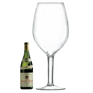Essential Accessories 336 oz. Crystal Stemmed Wine Glass