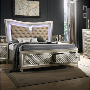 Eliseo California King Storage Panel Bed