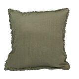 Olander Fringe Indoor/Outdoor Cotton Throw Pillow