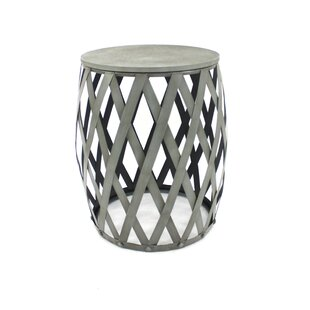 Riverside End Table by 17 Stories