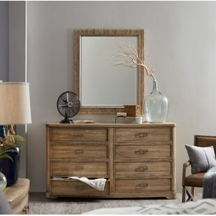 8 Drawer Dresser with Mirror by Hooker Furniture