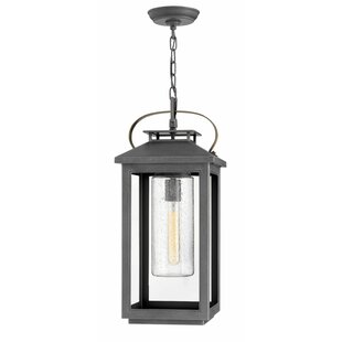 Comparison Atwater 1-Light Outdoor Hanging lantern By Hinkley Lighting
