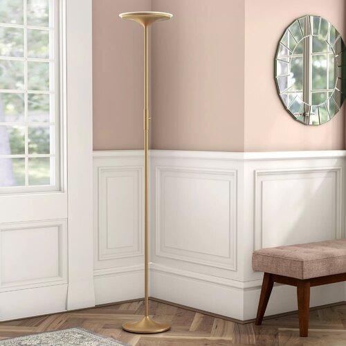 180 cm LED Deckenfluter | Lampen > Stehlampen > Deckenfluter | Messing antik | Metall | Bright Life