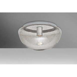 Donnie 1-Light Semi Flush Mount by Latitude Run