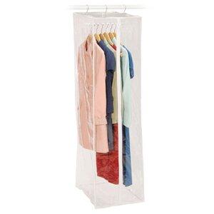 Clear Vinyl Storage Maxi Rack Dress Garment Bag by Richards Homewares