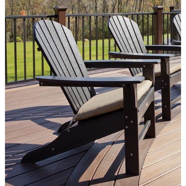 Trex Cape Cod Plastic Adirondack Chair U0026 Reviews | Wayfair