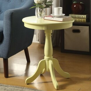 Terri Traditional Wooden Round End Table
