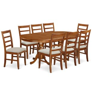 Pillsbury 9 Piece Dining Set August Grove