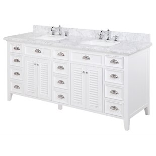 Savannah 72 Double Bathroom Vanity Set by Kitchen Bath Collection