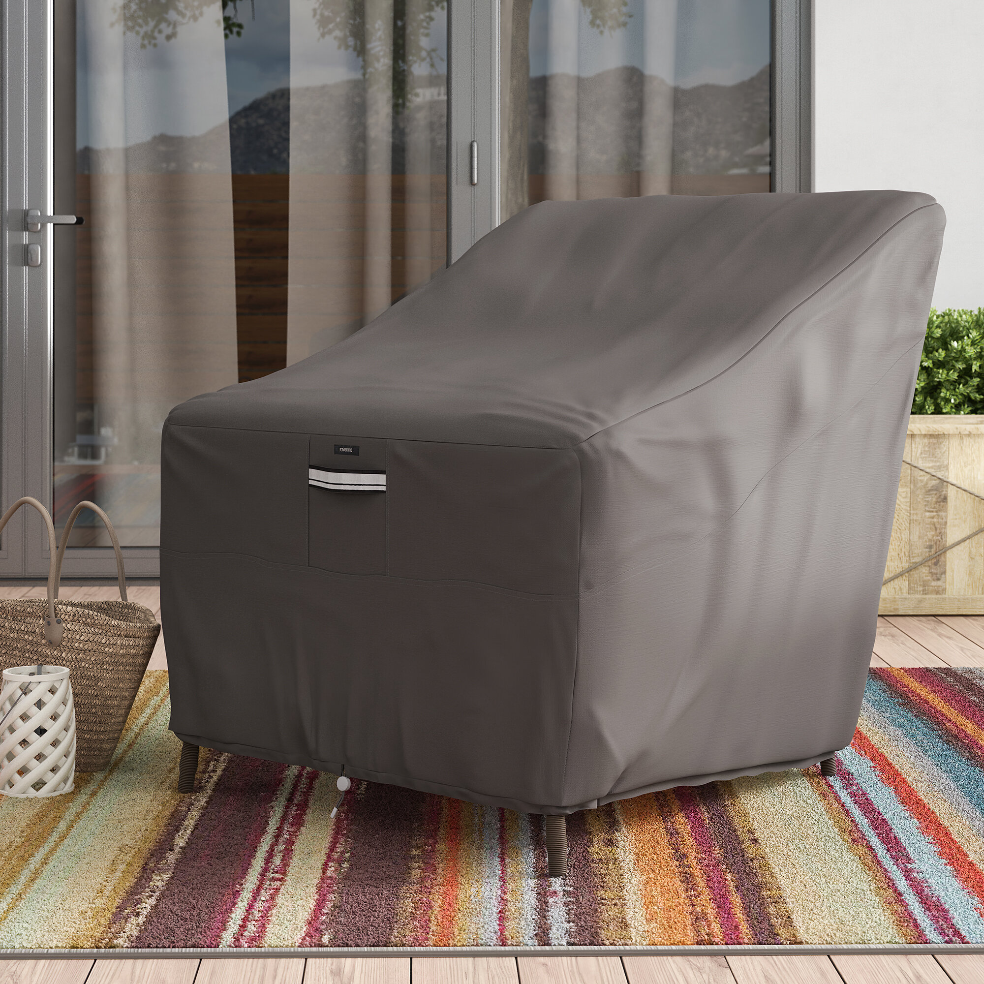 Picture of: Arlmont Co Water Resistant Patio Chair Cover With 7 Year Warranty Reviews Wayfair