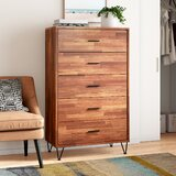 Wolfe 5 Drawer Chest by Mistana™