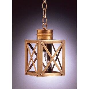 Northeast Lantern Suffolk 1-Light Outdoor Hanging Lantern