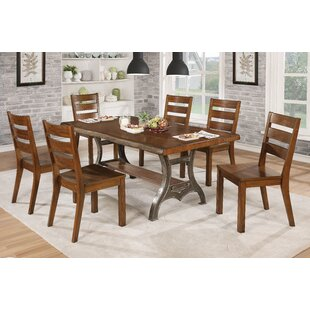 Williston Forge Govea Industrial 8 Piece Dining Set