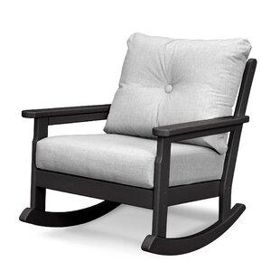 Vineyard Deep Seating Rocking Chair by POLYWOOD?