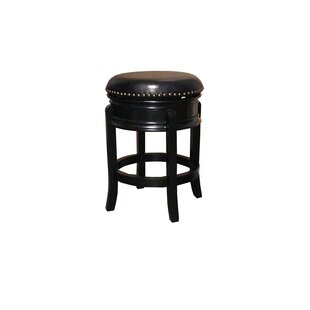 Magdaleno 24 Swivel Bar Stool Winston Porter