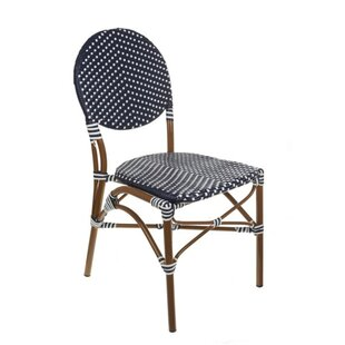French Café Stacking Patio Dining Chair