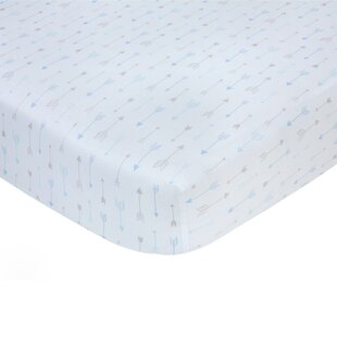 Great Price Arrow Sateen Crib Fitted Sheet By Carter's®