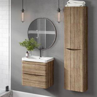 Blondene Modern 24 Single-Hole Bathroom Vanity Set By Trent Austin Design